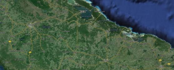 Santa Lucia Cuba Map
